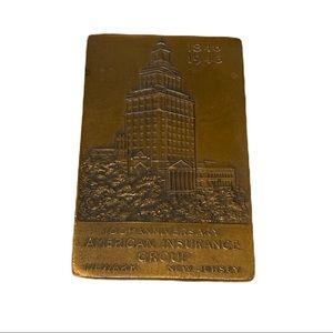 1946 Anniversary American Insurance Paperweight